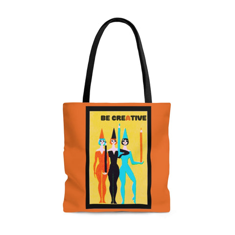 Be Creative Shoulder Tote Bag - Roomy