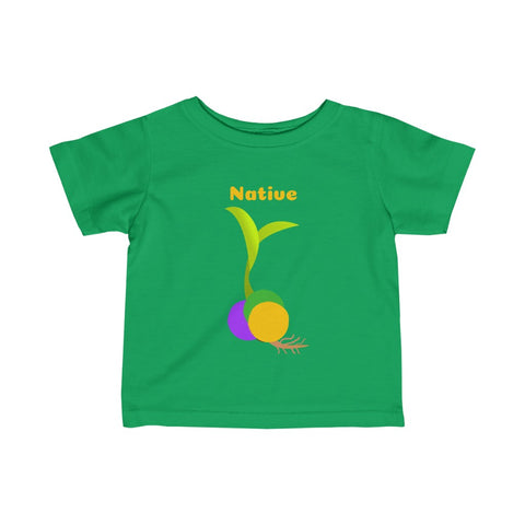 Native Beadling Infant Fine Jersey Tee