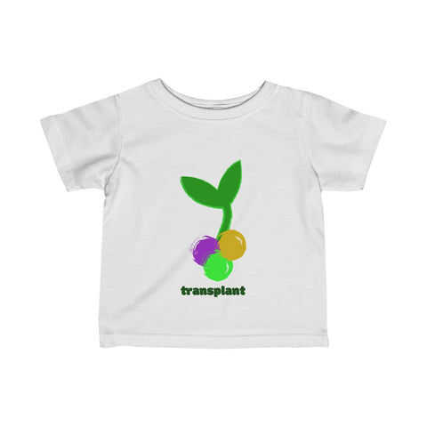 New Orleans Transplant Infant Fine Jersey Tee
