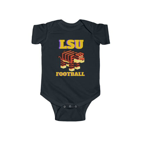 LSU Football Leggo Infant Fine Jersey Bodysuit