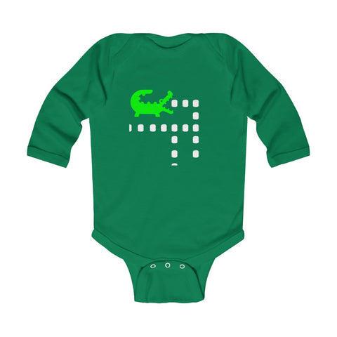 Jacque Man Infant Long Sleeve Bodysuit