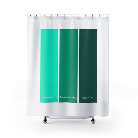 Paint Strip Shower Curtains