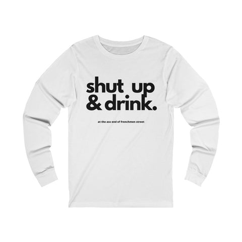 The John Bar Unisex Jersey Long Sleeve Tee