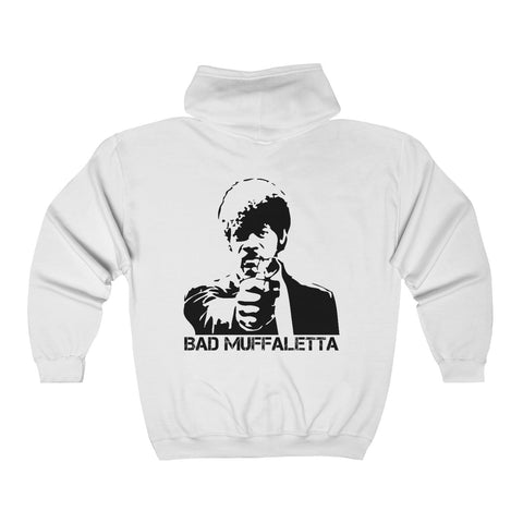 Bad Muffaletta Zip-Up Hooded Sweatshirt