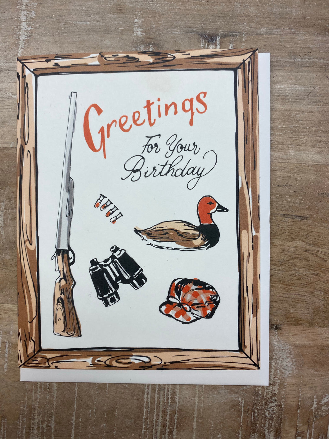 Happy Birthday Hunting Card