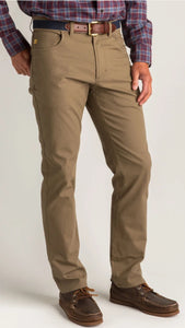 Duck Head Field Green 5 Pocket Pants