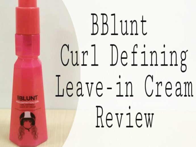 BBLUNT High Definition Curl Leave-in Cream Review By That Elegant Chic
