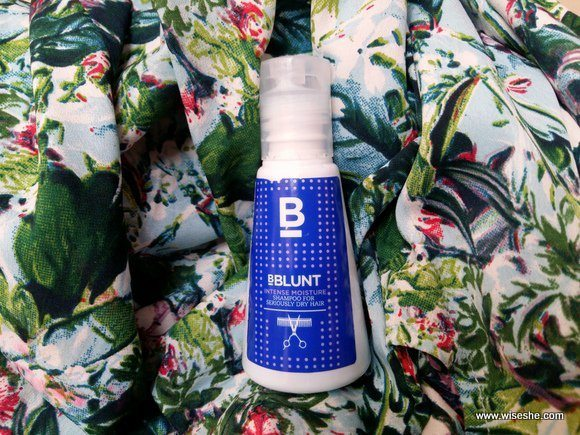 BBLUNT Mini Intense Moisture Shampoo Review By Wise She