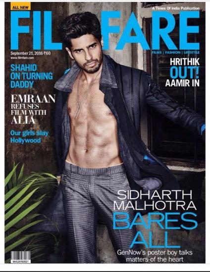 How To Get Sidharth Malhotra's Wet & Sexy Look For Filmfare