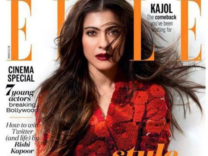 How To Get Kajol's Voluminous Hairstyle For Elle