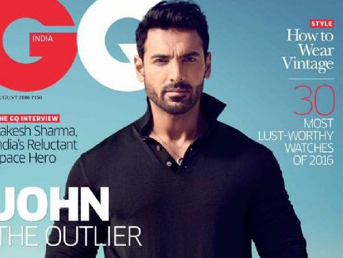 How To Get John Abraham's Sleek & Sexy Look For GQ