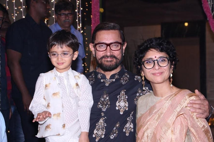 Men's Hairstyles You Can Steal from Aamir Khan's Diwali Party