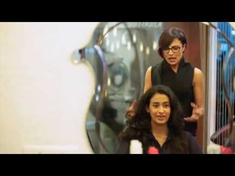 Adhuna Akhtar Gives Miss Malini's Team A Hair Makeover