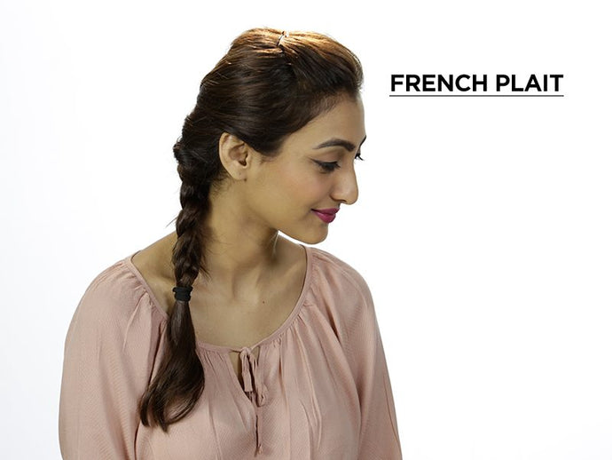 How To Get The Perfect French Plait