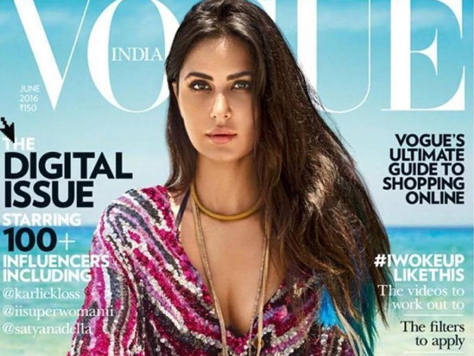How To Get Katrina Kaif's Mussed Summer Hairstyle For Vogue
