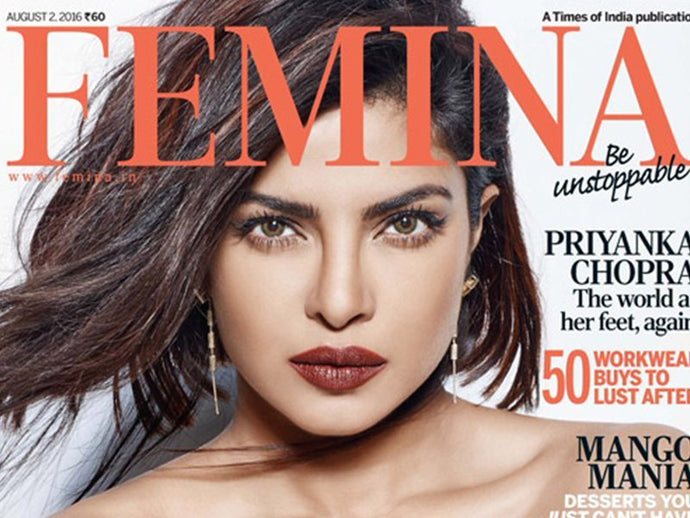 How To Get Priyanka Chopra's Feisty Bob Cut Hairstyle For Femina