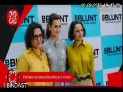 Zoom TV - Dia Mirza Launches BBLUNT Salon In Malad