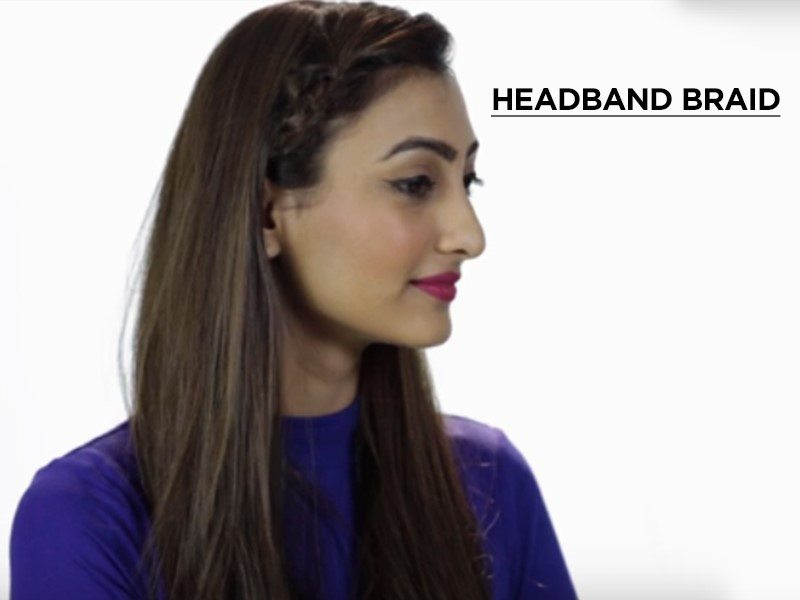 headband braid hairstyles for long hair