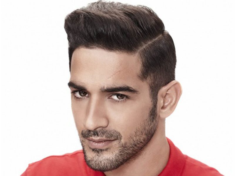Classic side swept hairstyles for Indian Men
