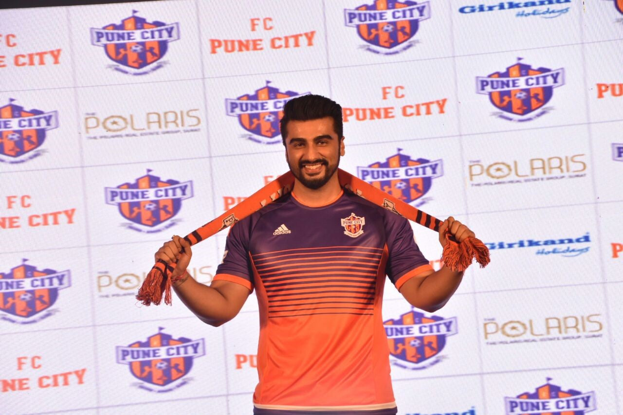 Arjun Kapoor Gets ISL Ready