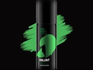BBLUNT Temporary Hair Colours emerald green