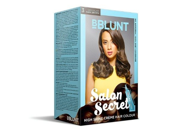 BBLUNT's Salon Secret High Shine Crème Hair Colour in Chocolate
