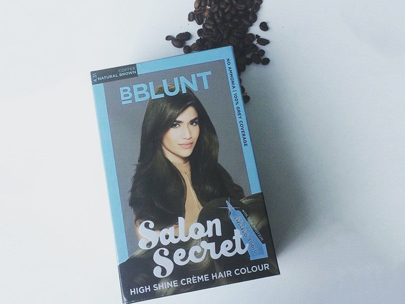 BBLUNT's Salon Secret High Shine Crème Hair Colour in Coffee