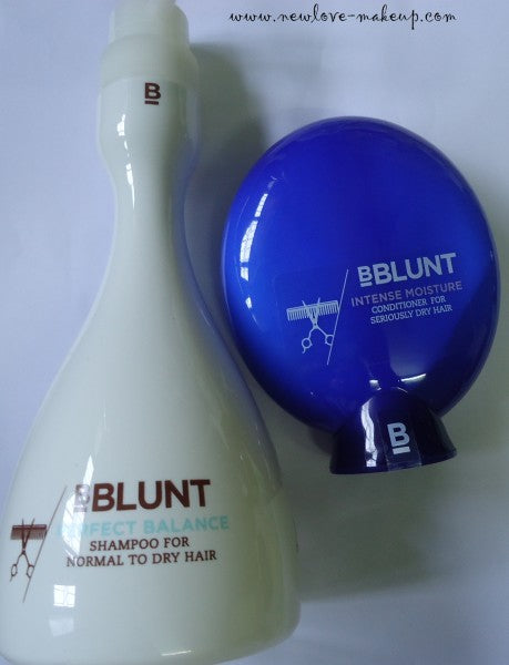 BBLUNT Perfect Balance Shampoo Review, BBLUNT Intense Moisture Conditioner Review