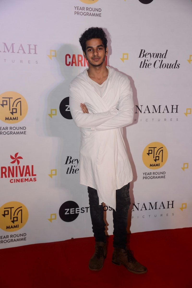 Ishaan Khatter Beyond The Clouds Screening