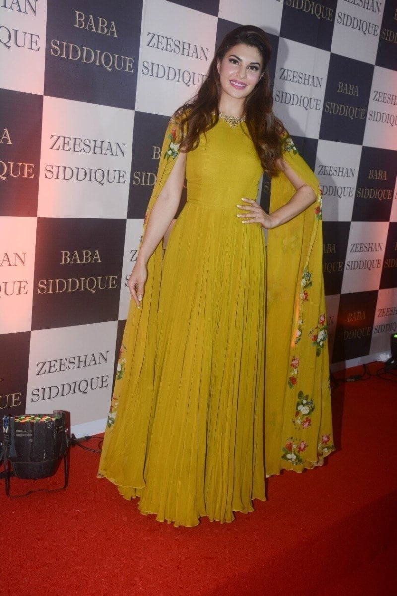 Jacqueline Fernandez Iftar Party Hairstyles