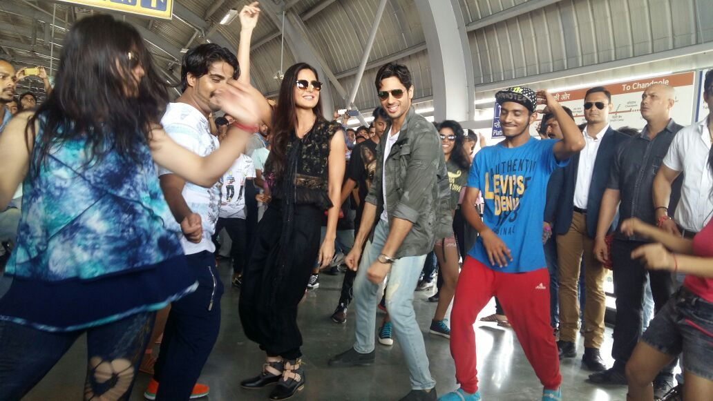 Sidharth Malhora and Katrina Kaif's Look