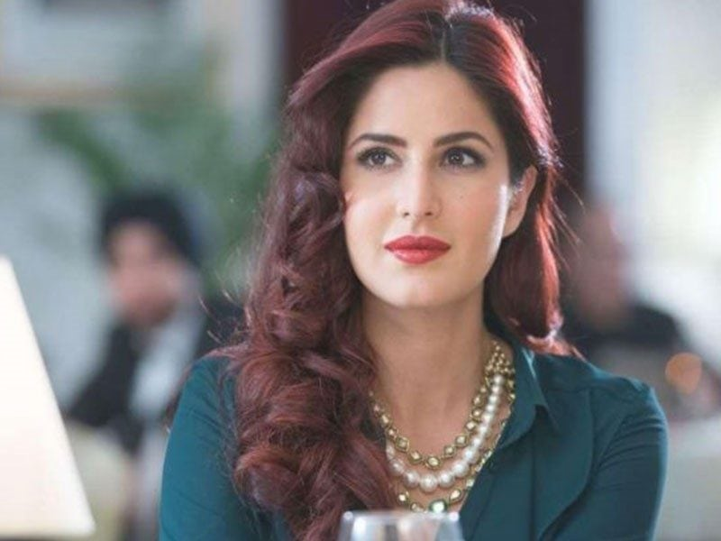 Katrina Kaif Red Hair