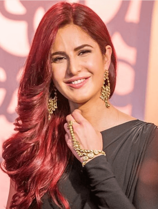 katrina kaif red hair look for fitoor