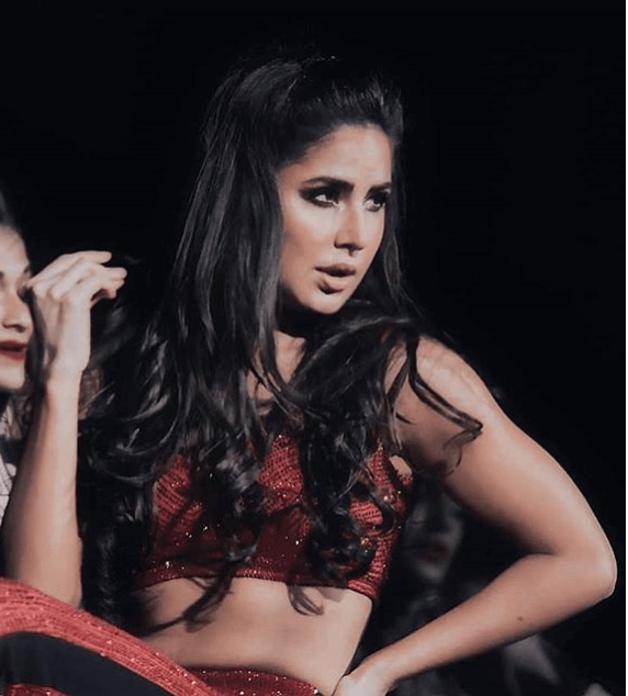 katrina kaif pinned hairstyle for stage performances
