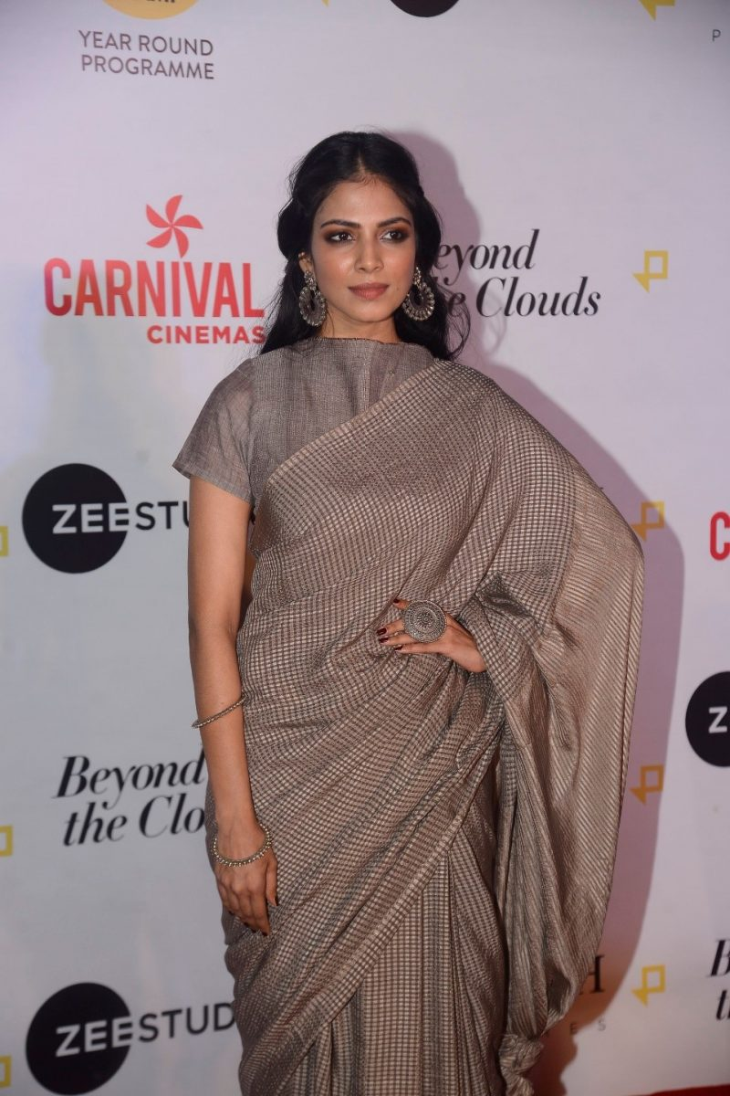 Malavika Mohanan Beyond The Clouds Screening