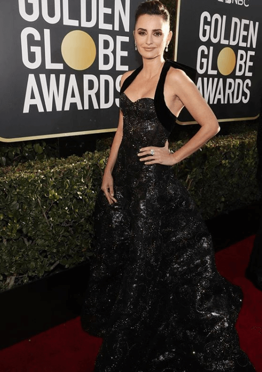 penelope cruz golden globe