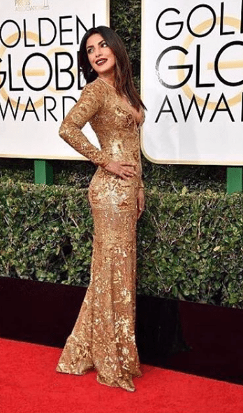 Priyanka Chopra Golden Globe Awards