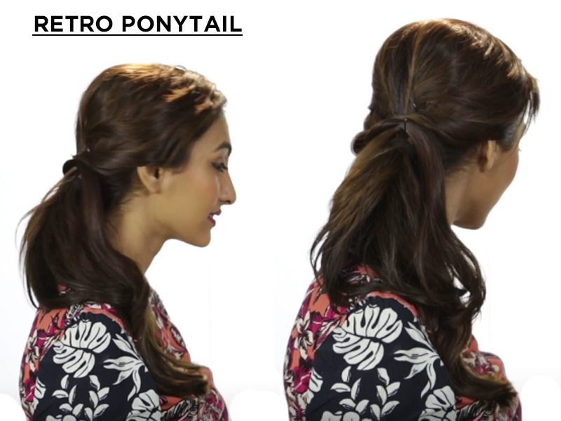 retro ponytail
