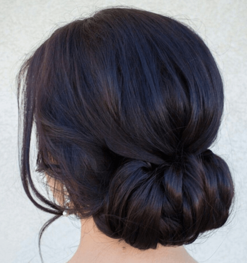 Sleek Chignon