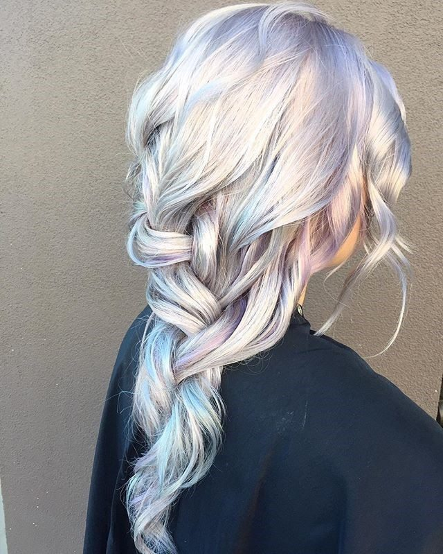 Straight Up Shimmery Tresses