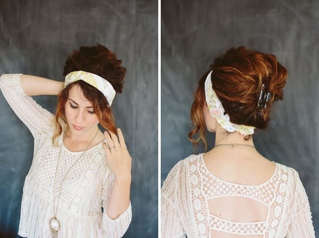 The Clipped Bouffant