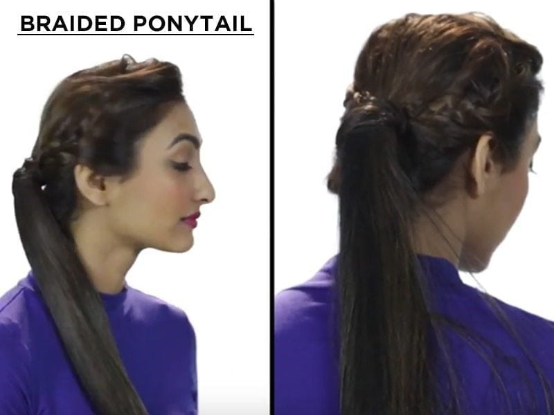 The Textured Ponytail