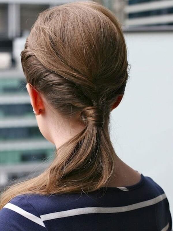 party hairstyles for coloured hair