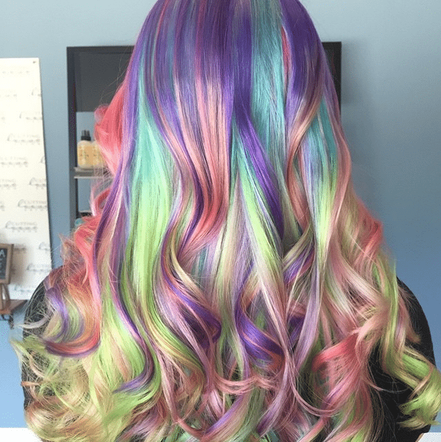 Unicorn Hair Look