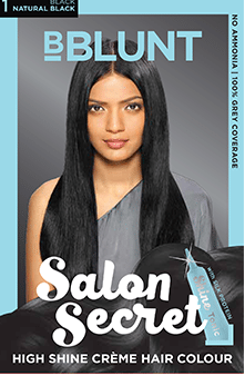 hair colour shades - natural black