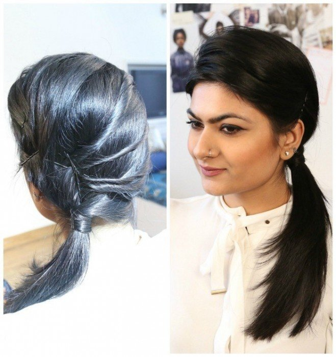 hair tutorial using bblunt products