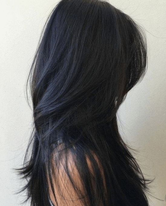 Best hair colour ideas - black hair colour