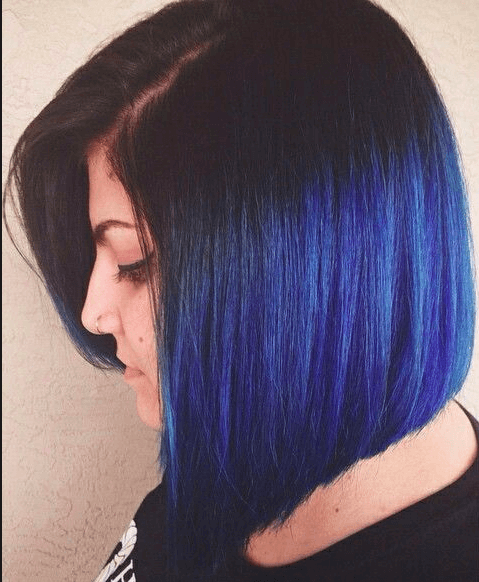 Best hair colour ideas - blue hair colour