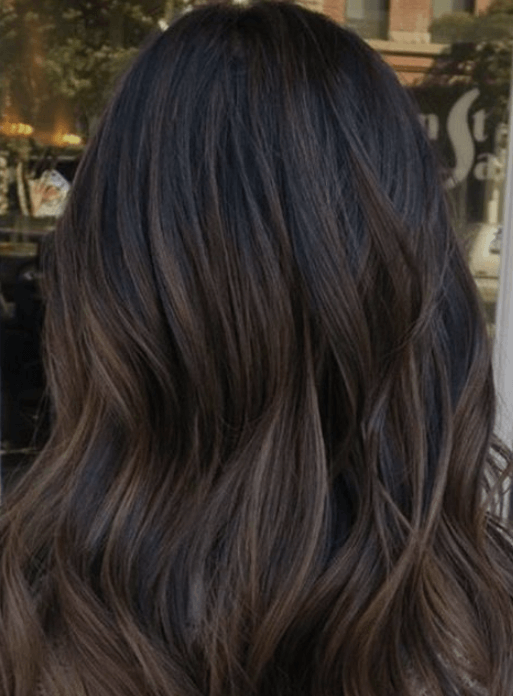 coffee hair colour shade