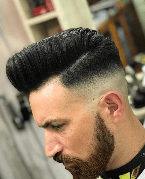 french crop hairstyle with short hair on the sides